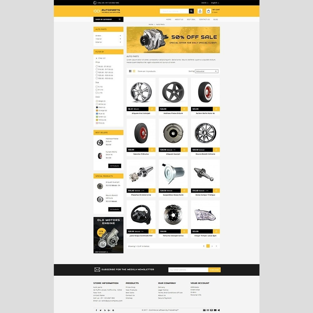 theme - Automotive & Cars - Auto parts - 3