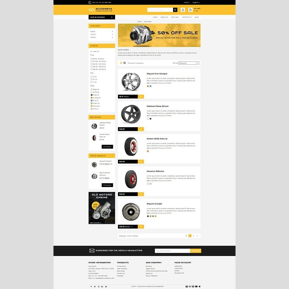 theme - Automotive & Cars - Auto parts - 4