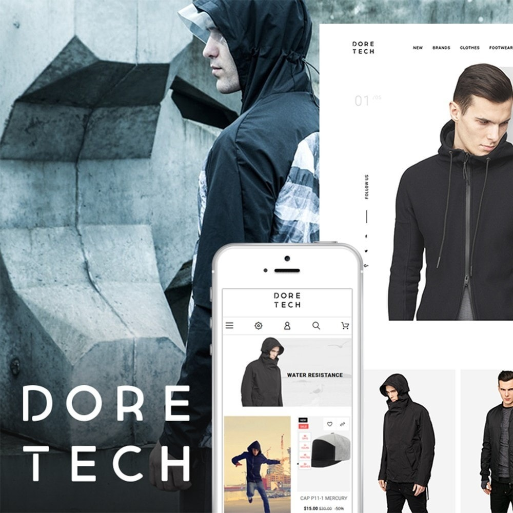 theme - Moda & Calzature - Dore Tech - 1