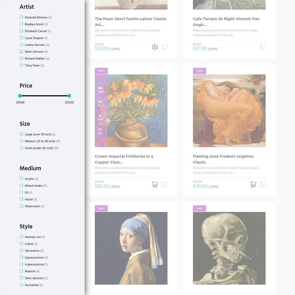 theme - Искусство и Культура - Artworker -  шаблон художественной галереи - 3