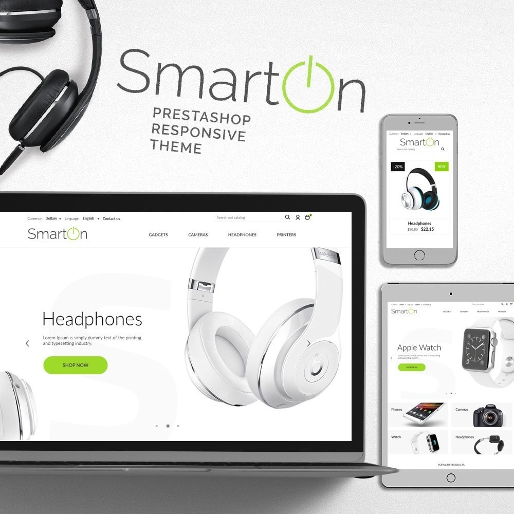 theme - Elektronika & High Tech - SmartOn - High-tech Shop - 1