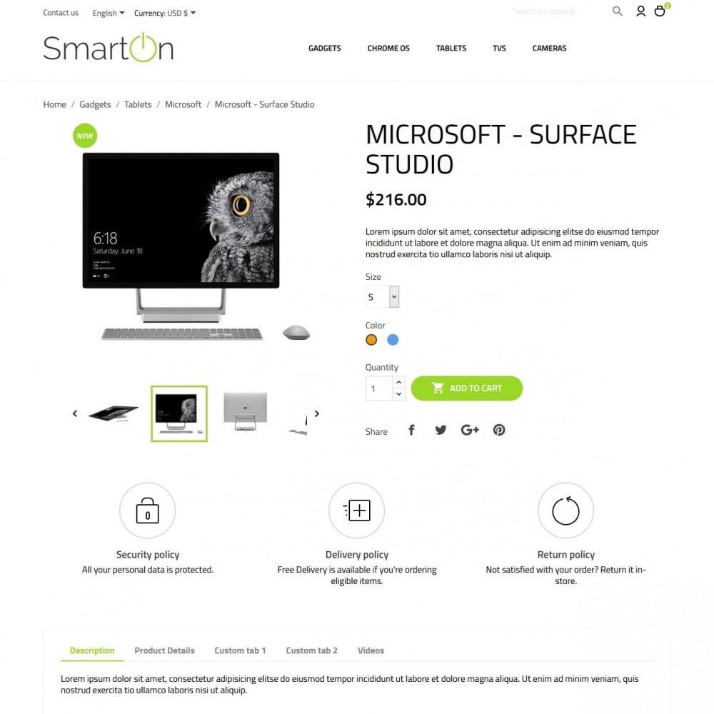 theme - Electronics & Computers - SmartOn - High-tech Shop - 6