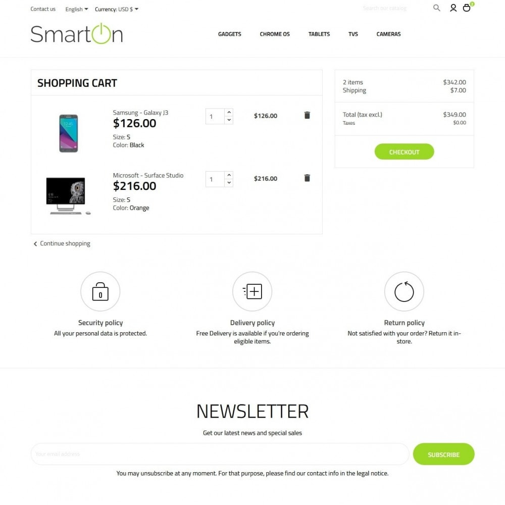theme - Электроника и компьютеры - SmartOn - High-tech Shop - 7