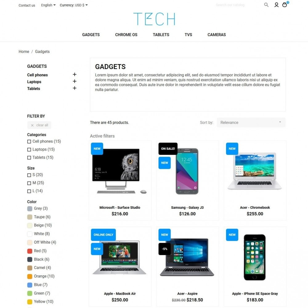 theme - Electronics & Computers - Tech - High-tech Shop - 5