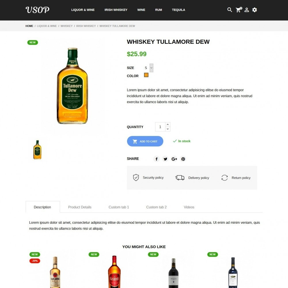 theme - Drank & Tabak - Vsop Shop - 6