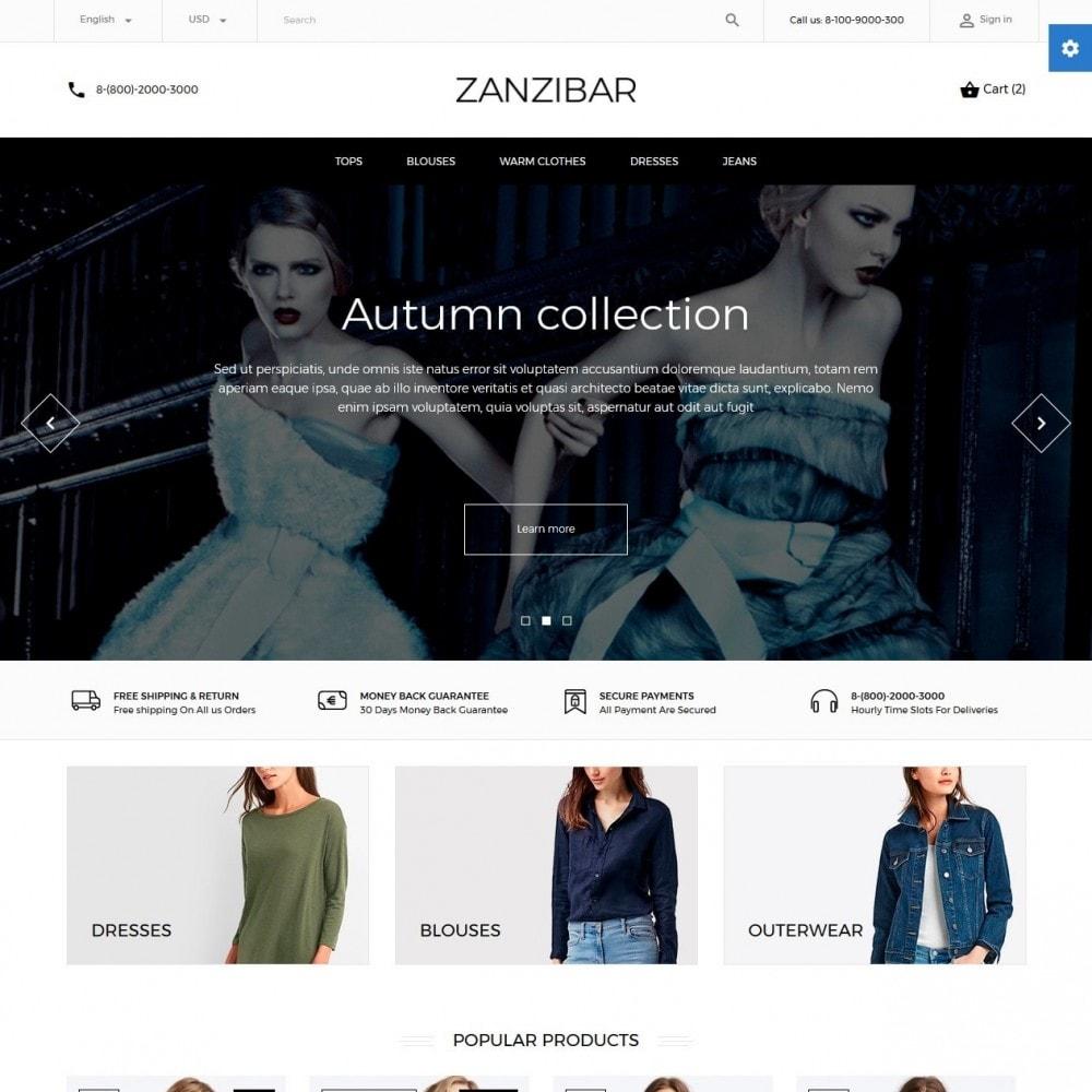 theme - Мода и обувь - Zanzibar Fashion Store - 2