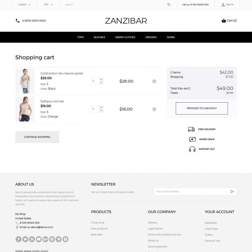theme - Mode & Chaussures - Zanzibar Fashion Store - 7