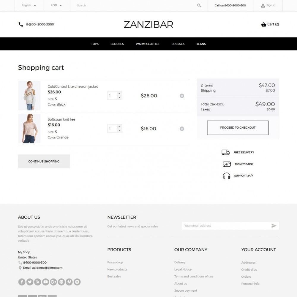 theme - Мода и обувь - Zanzibar Fashion Store - 7