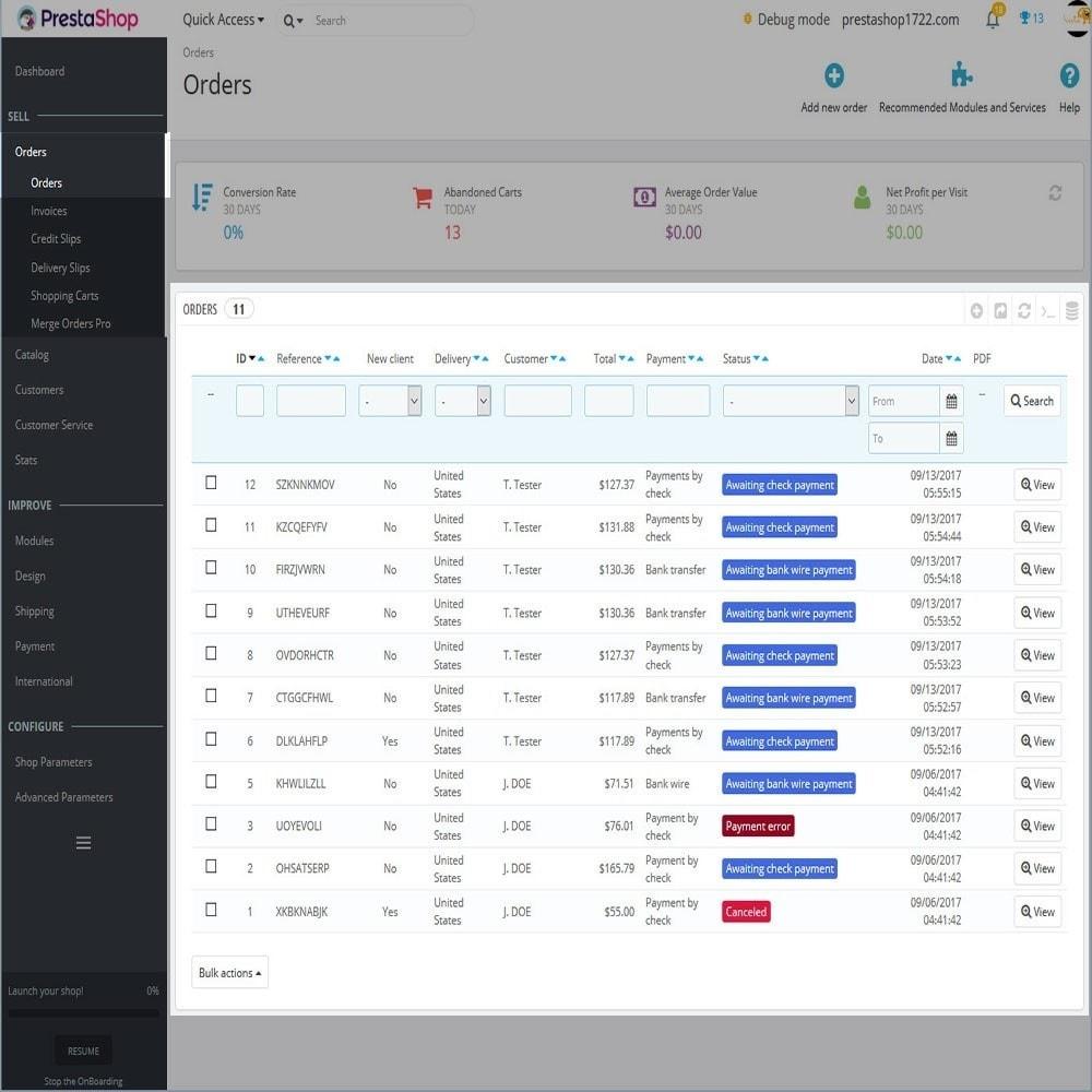 module - Registration & Ordering Process - Merge Orders Pro - 3