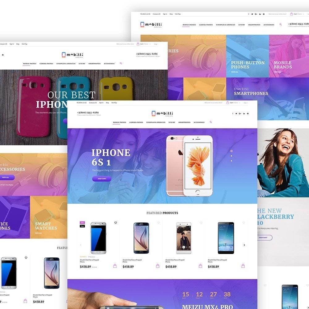 theme - Electronique & High Tech - Mobilli - Téléphones portables et accessoires thème - 2