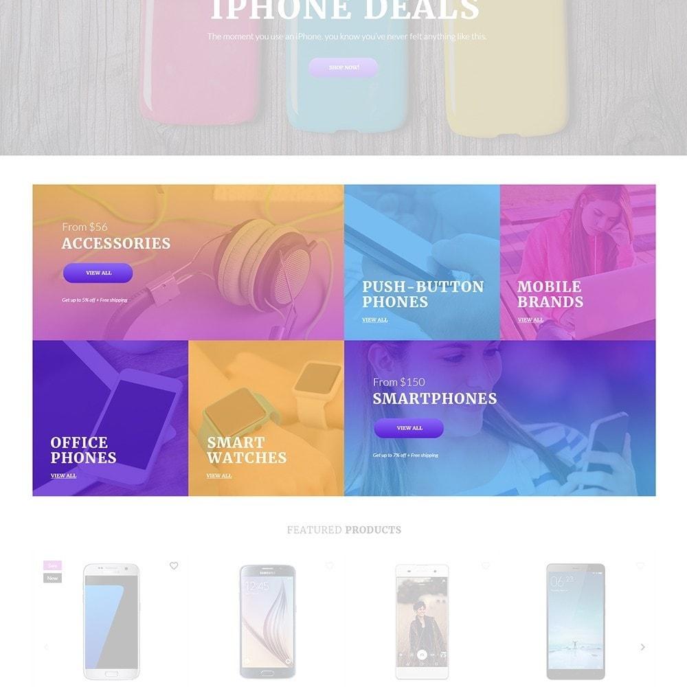 theme - Electronique & High Tech - Mobilli - Téléphones portables et accessoires thème - 4