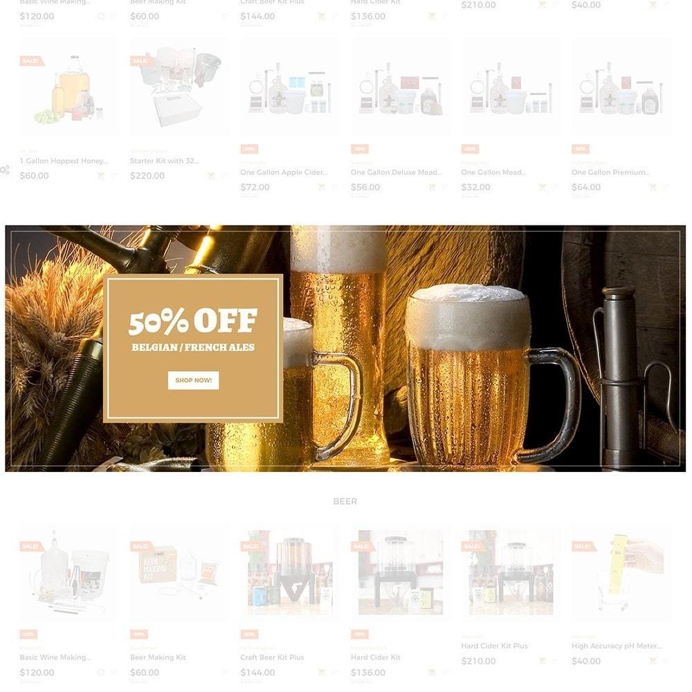 theme - Template PrestaShop - Beerione - Template per Un Sito di Fabbrica di Birra - 3