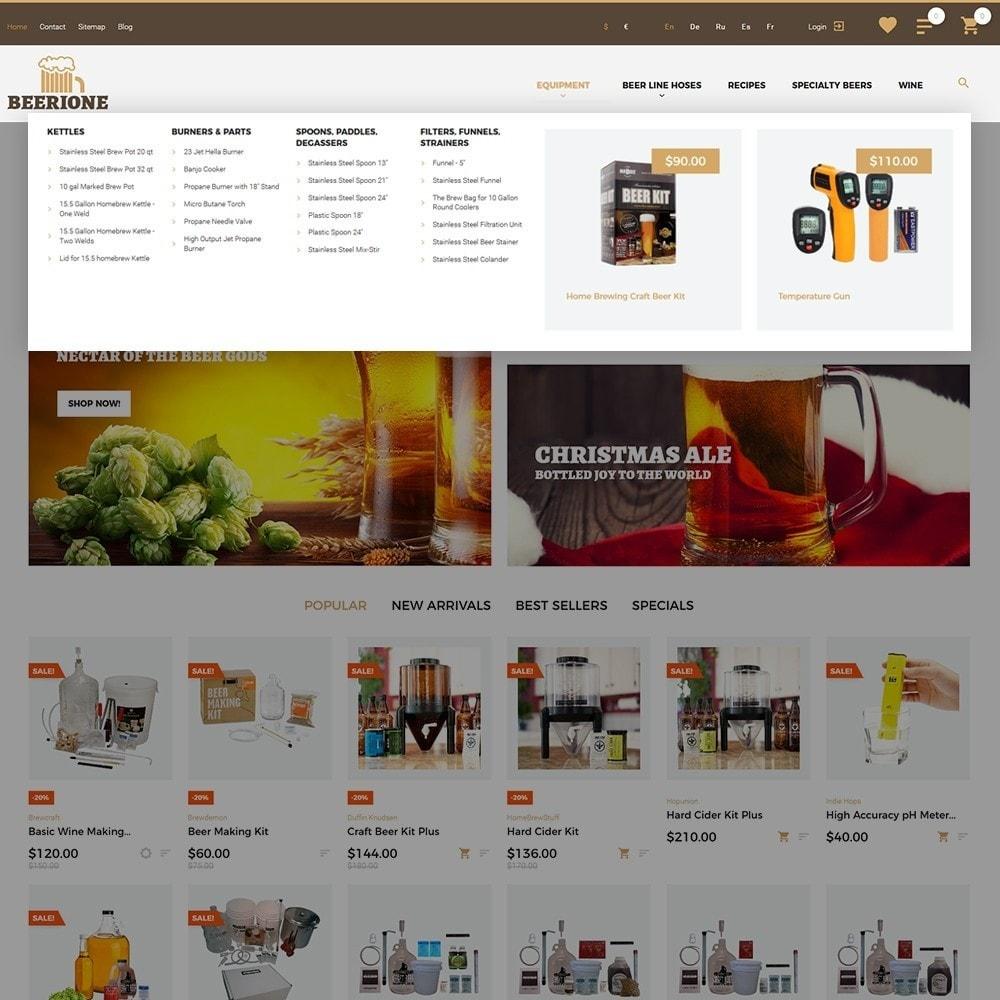 theme - Template PrestaShop - Beerione - Template per Un Sito di Fabbrica di Birra - 4