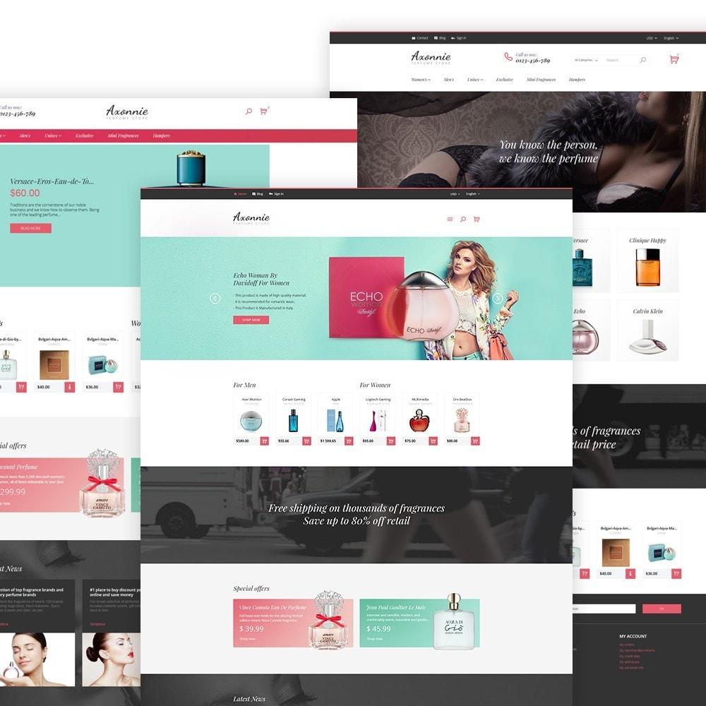 theme - Mode & Chaussures - Axonnie - Magasin de parfums thème PrestaShop - 2