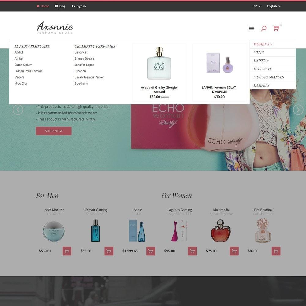 theme - Moda y Calzado - Axonnie - Tema para Sitio de Tienda de Cosméticos - 3