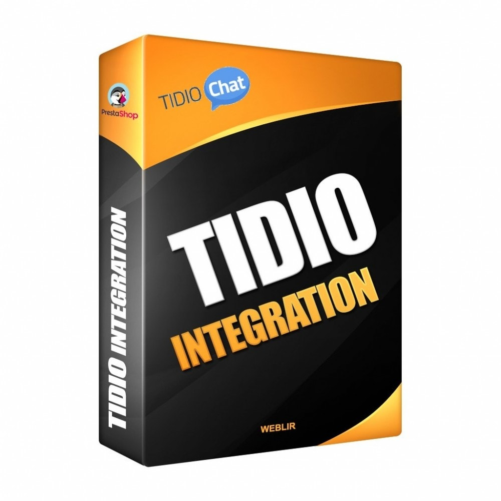 module - Ondersteuning & Online chat - Tidio Integration - Free Livechat Solution - 1
