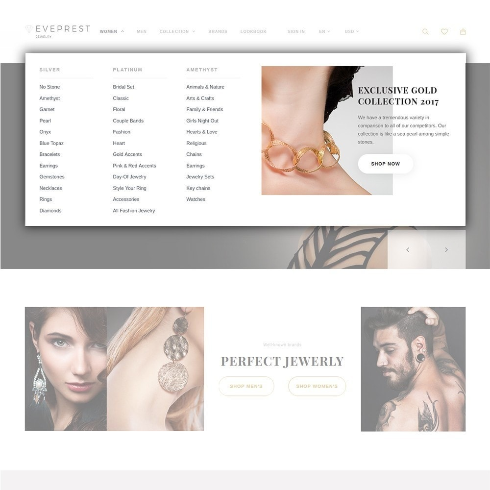 theme - Fashion & Shoes - Eveprest - Multipurpose PrestaShop Theme - 9