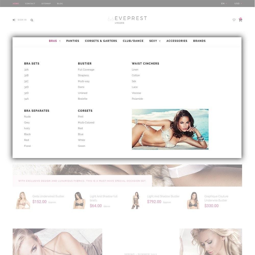 theme - Moda y Calzado - Eveprest - Tema multifuncional de PrestaShop - 7