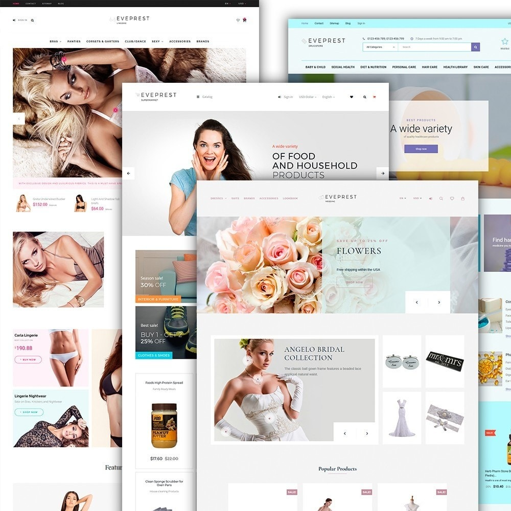 theme - Мода и обувь - Eveprest - Multipurpose Shop - 4