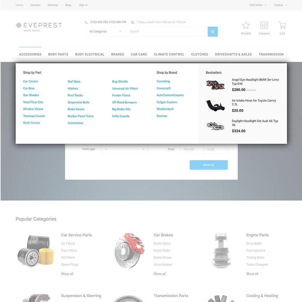 theme - Мода и обувь - Eveprest - Многоцелевая тема PrestaShop - 11