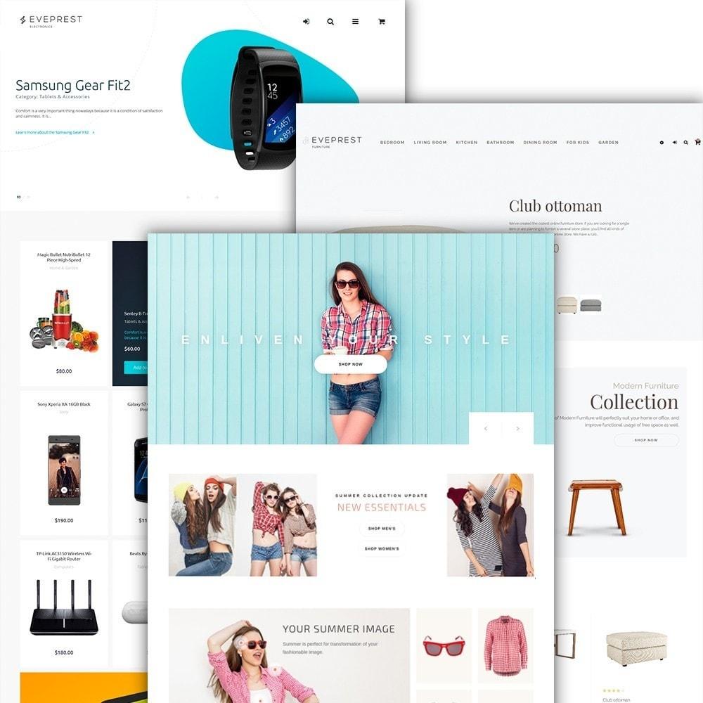 theme - Moda & Calzature - Eveprest - Tema multipurpose PrestaShop - 4