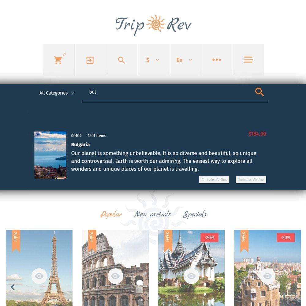 theme - Sport, Attività & Viaggi - TripRev - Modello PrestaShop per Un Sito di Viaggi - 6