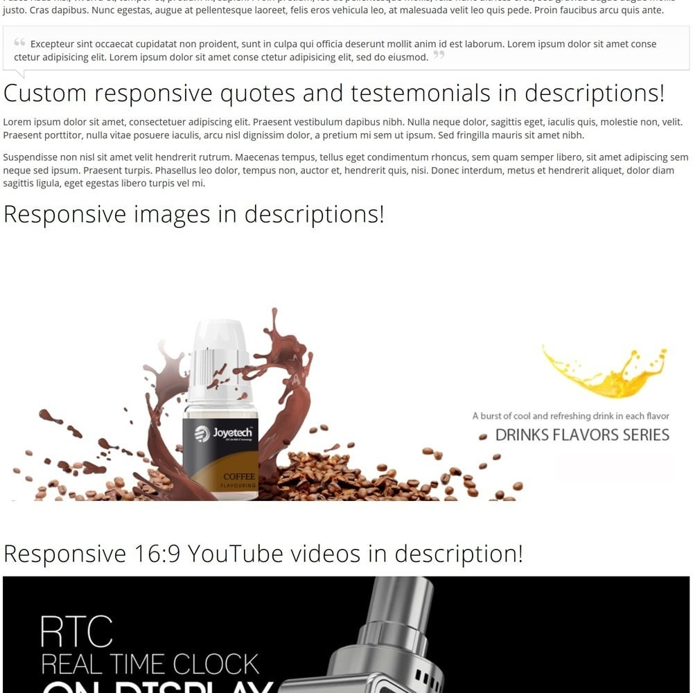 theme - Napoje & Wyroby tytoniowe - e-Cig Shop - 8