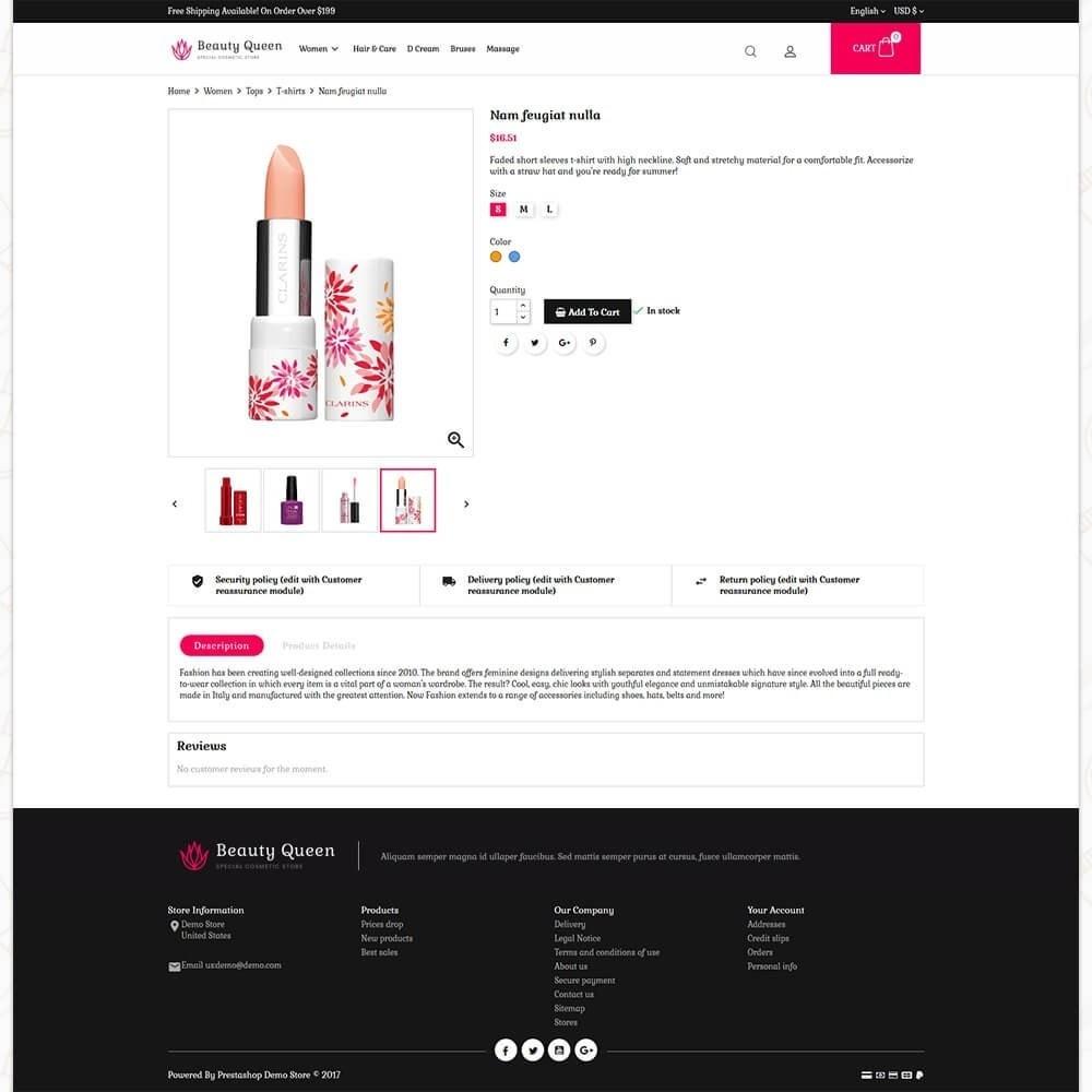 theme - Gezondheid & Schoonheid - Beauty Queen Store - 5