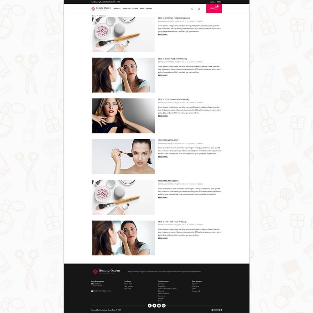 theme - Health & Beauty - Beauty Queen Store - 6