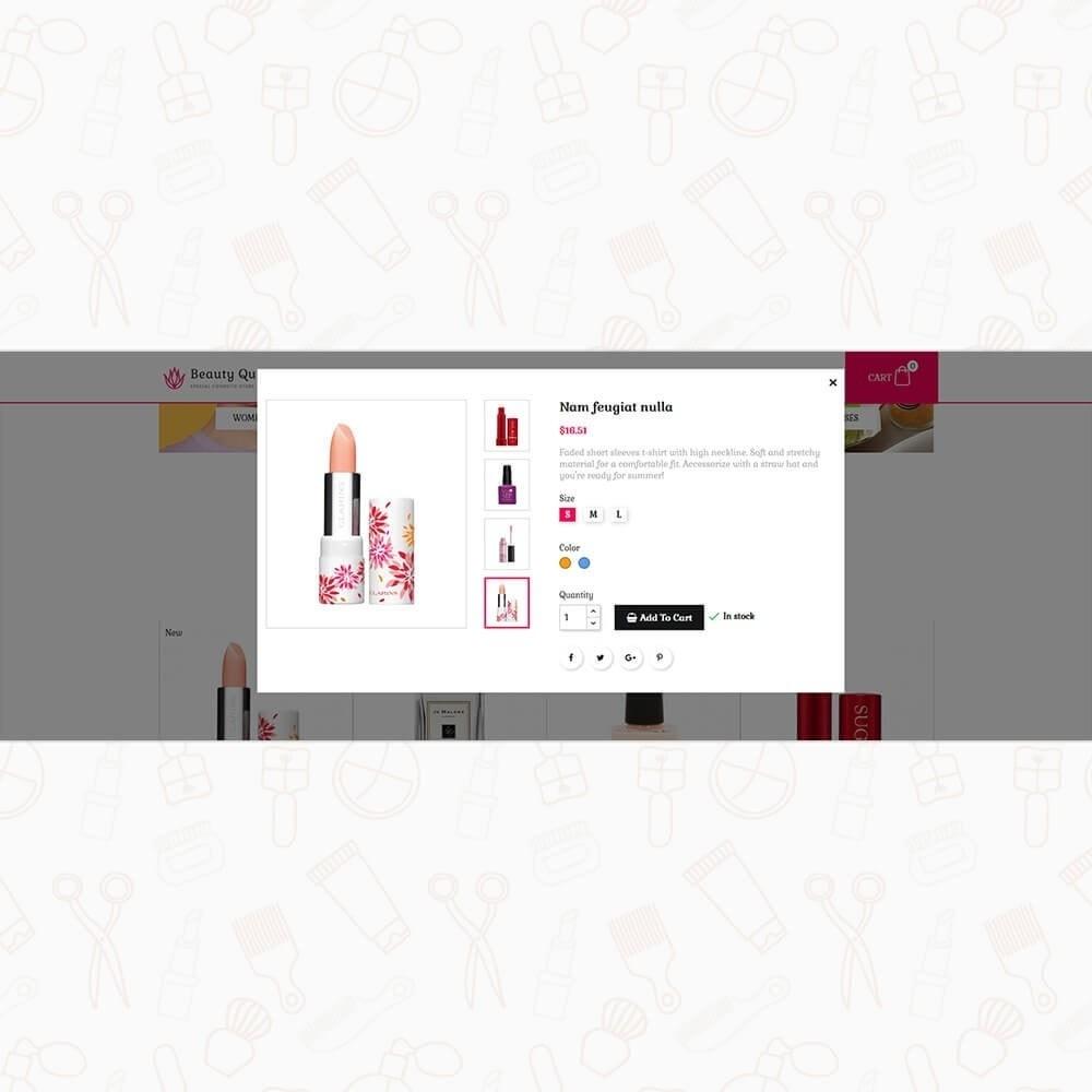 theme - Gezondheid & Schoonheid - Beauty Queen Store - 7