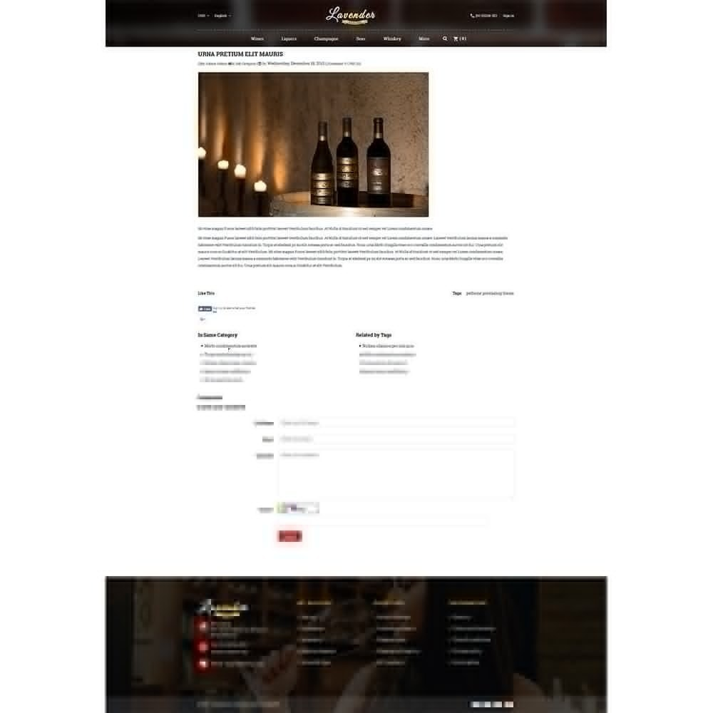 theme - Drink & Wine - Lavender Wine Store - 8