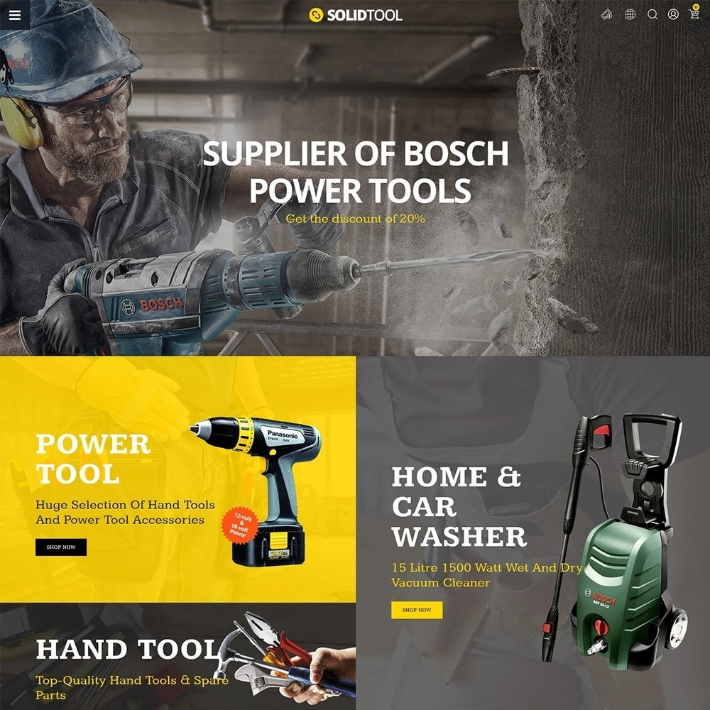 theme - Auto & Moto - Solid Tool Store - 2
