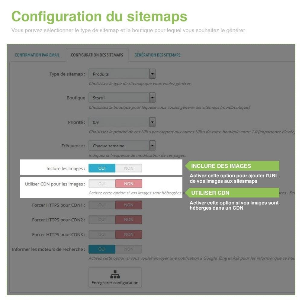 module - SEO (référencement naturel) - Sitemaps Pro Multilingues et Multi-Boutiques - SEO - 4