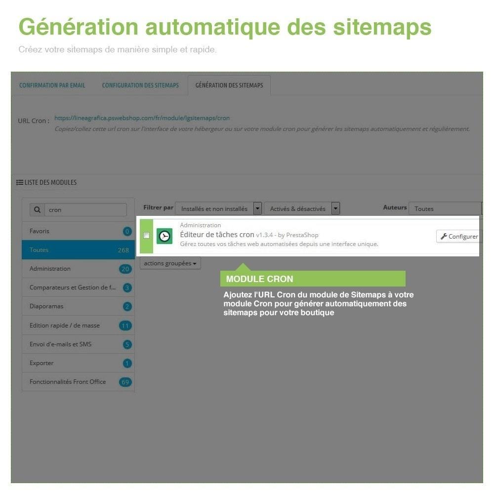 module - SEO (référencement naturel) - Sitemaps Pro Multilingues et Multi-Boutiques - SEO - 9