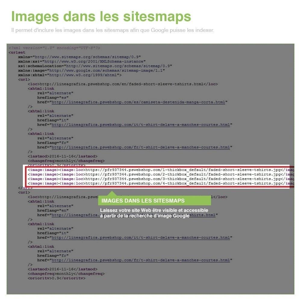 module - SEO (référencement naturel) - Sitemaps Pro Multilingues et Multi-Boutiques - SEO - 12