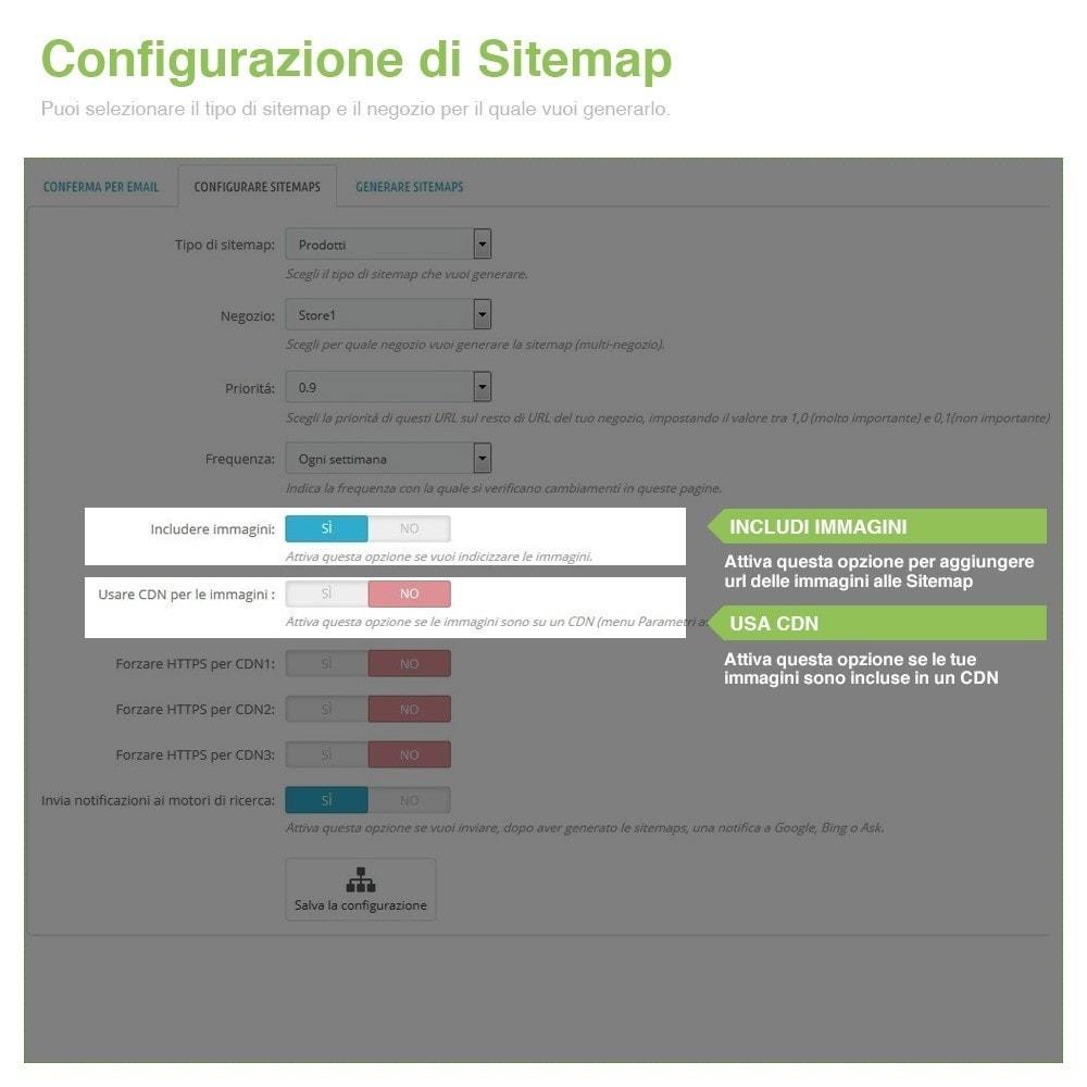 module - SEO (Indicizzazione naturale) - Sitemaps Pro Multi-Lingue e Multi-Negozio - SEO - 5
