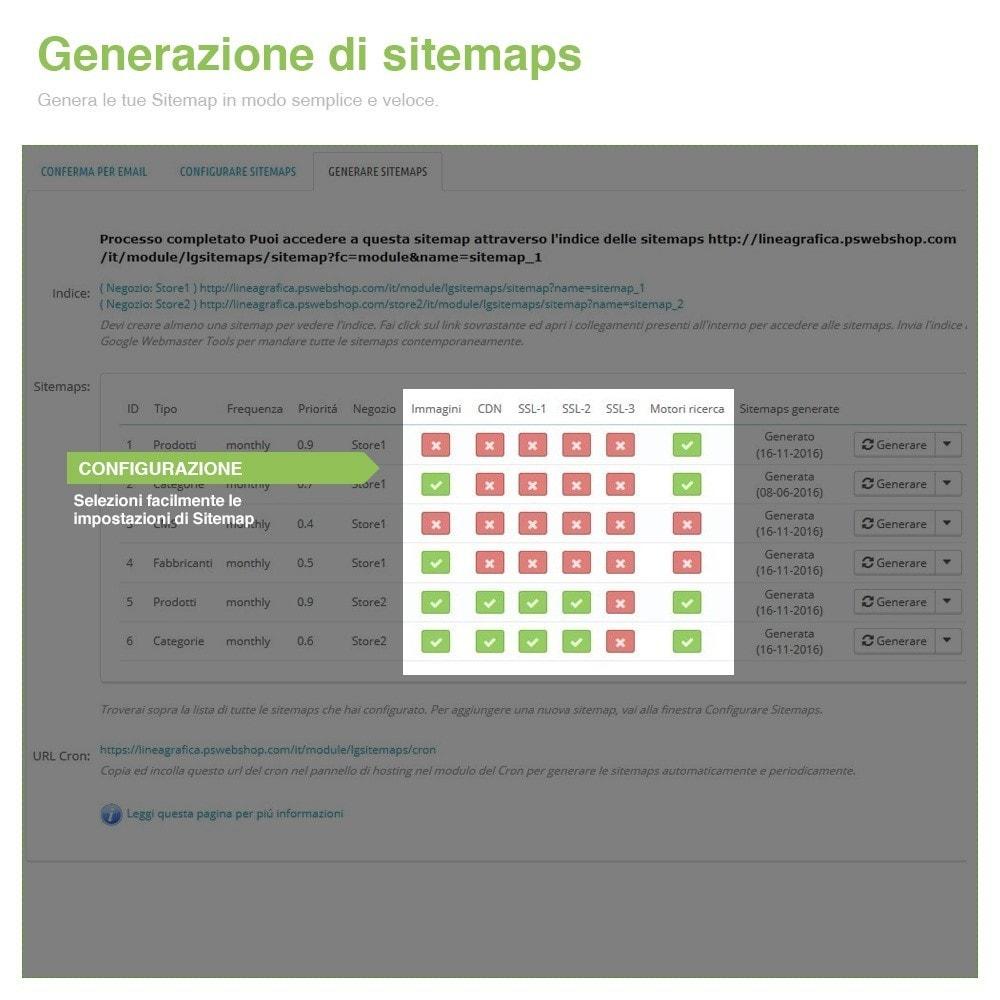 module - SEO (Indicizzazione naturale) - Sitemaps Pro Multi-Lingue e Multi-Negozio - SEO - 7