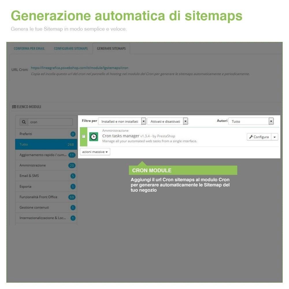 module - SEO (Indicizzazione naturale) - Sitemaps Pro Multi-Lingue e Multi-Negozio - SEO - 9