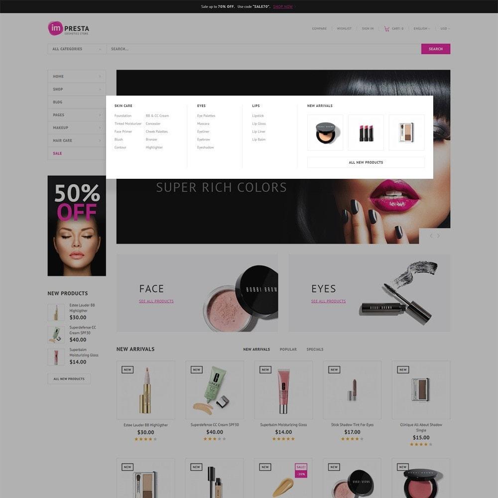 theme - Health & Beauty - Impresta - Cosmetics Store - 4