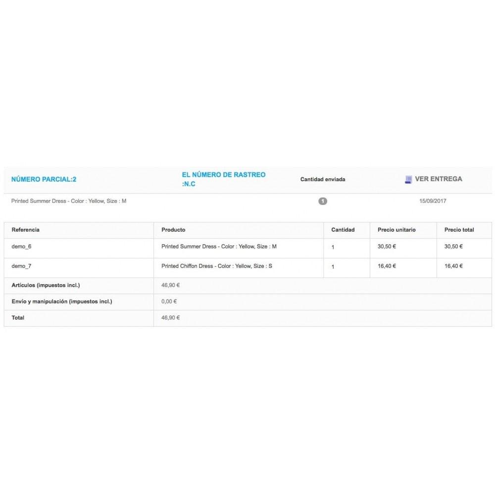 module - Gestión de Pedidos - Entrega parcial (saldo de pedido) - 6