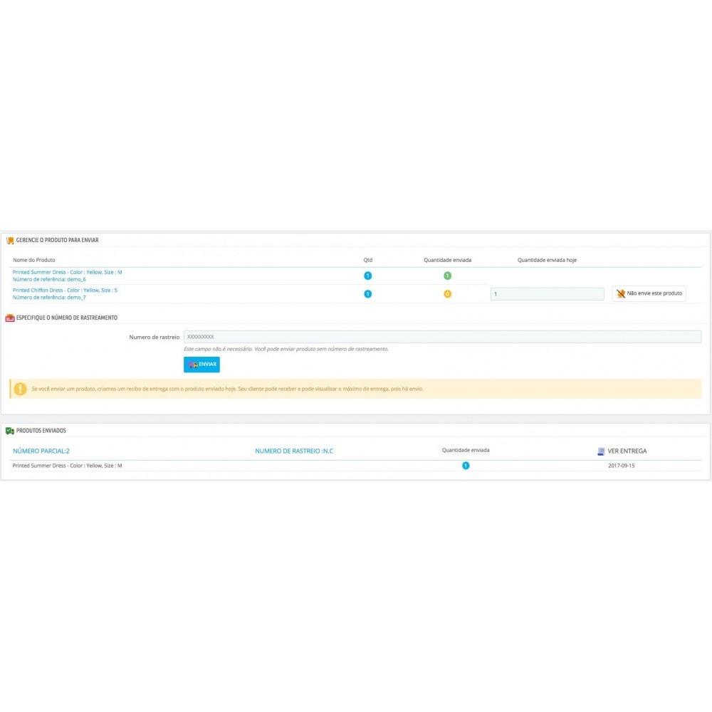 module - Gerenciamento de pedidos - Entrega parcial (saldo da ordem) - 3
