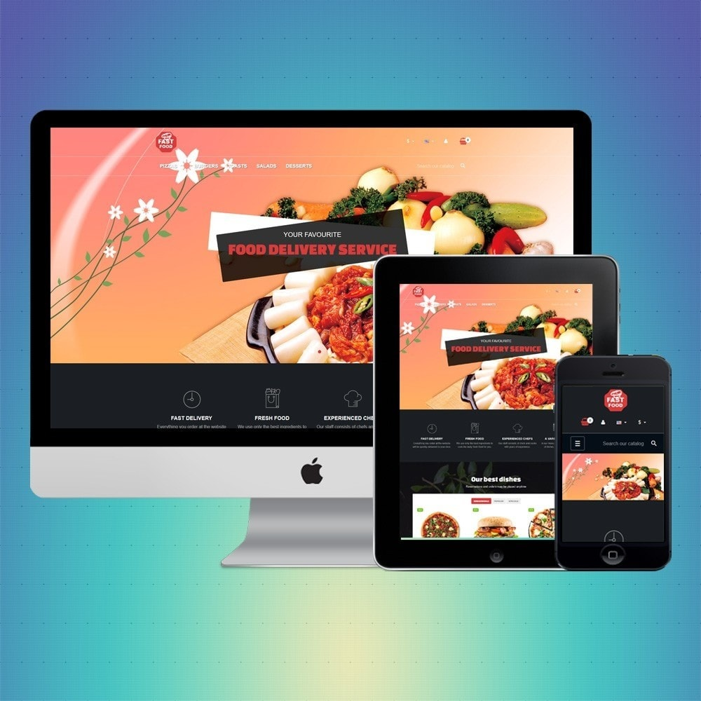 theme - Food & Restaurant - VP_Fastfood Store - 1