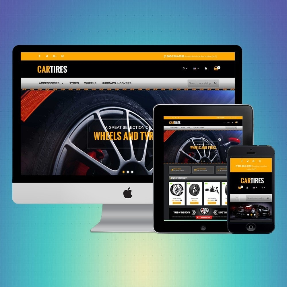 theme - Carros & Motos - VP_Cartires Store - 1