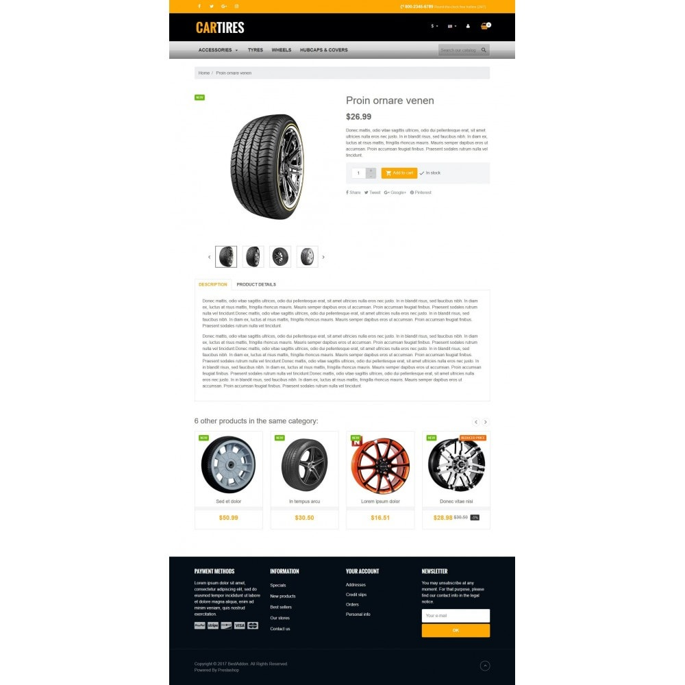 theme - Auto's & Motoren - VP_Cartires Store - 4