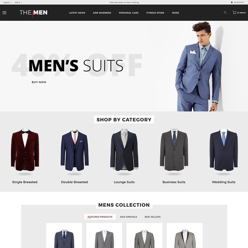 theme - Moda & Obuwie - TheMan Luxurious Fashion Store - 2