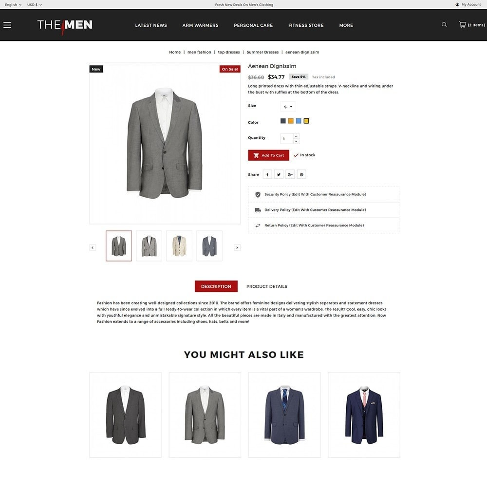 theme - Moda y Calzado - TheMan Luxurious Fashion Store - 5