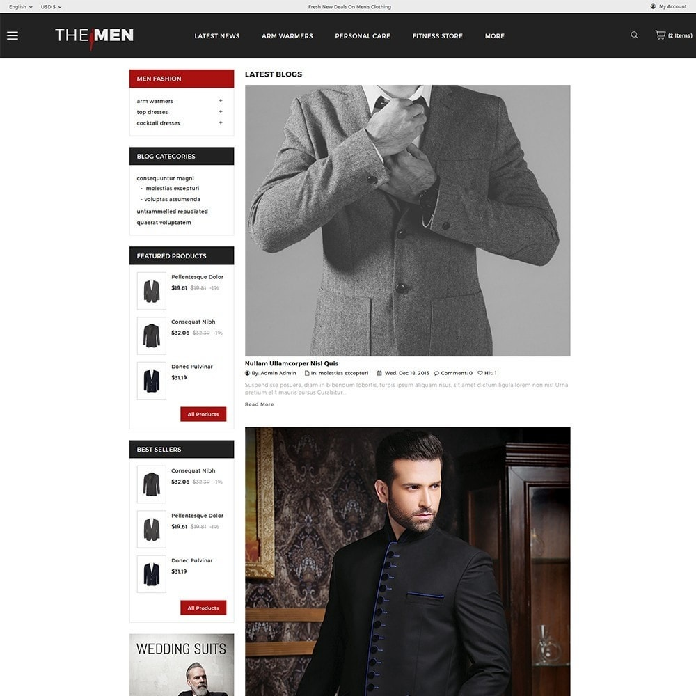theme - Moda & Obuwie - TheMan Luxurious Fashion Store - 6
