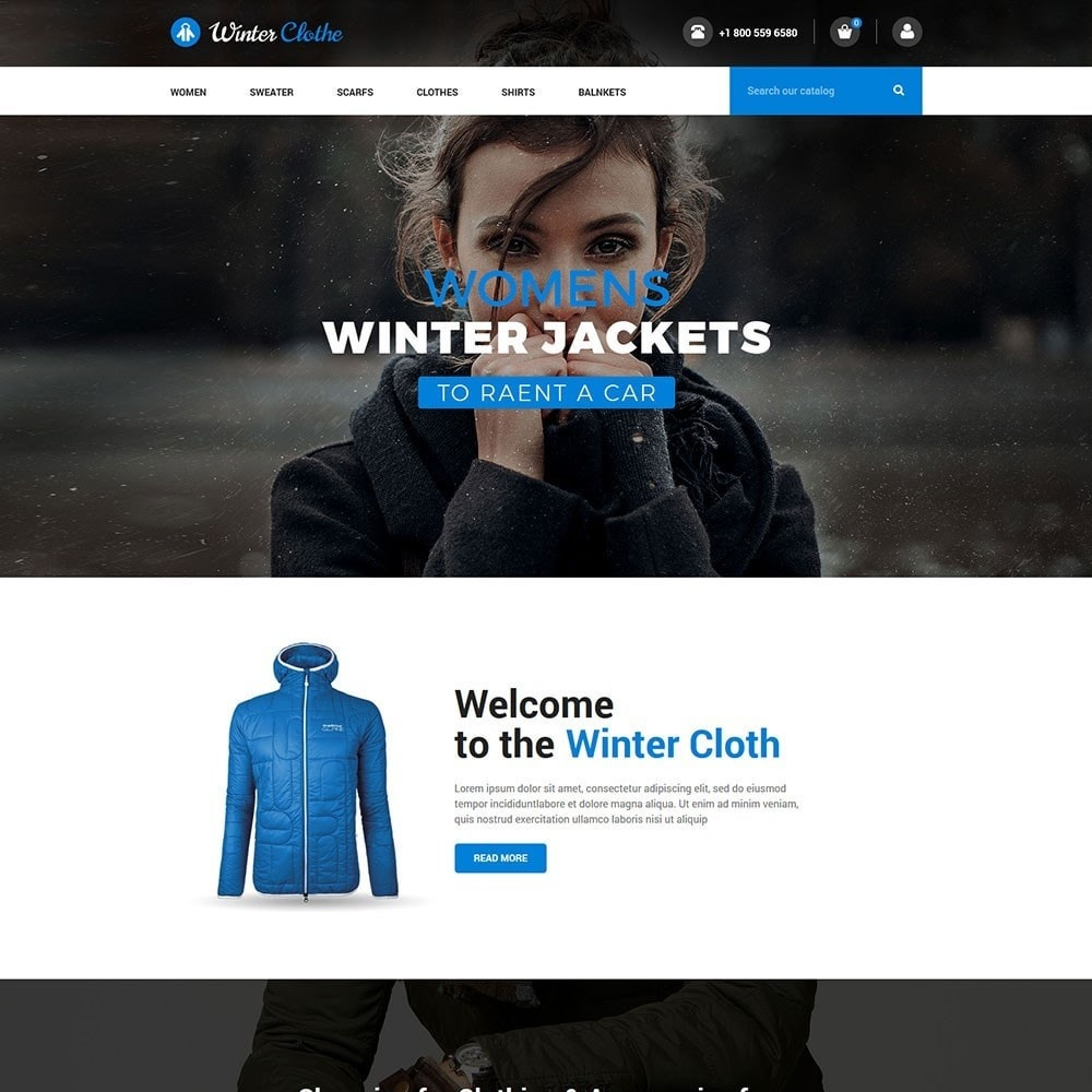theme - Moda & Calzature - Winter Cloth Store - 2
