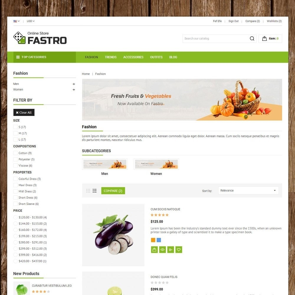 theme - Food & Restaurant - Fastro Grocery Store - 4