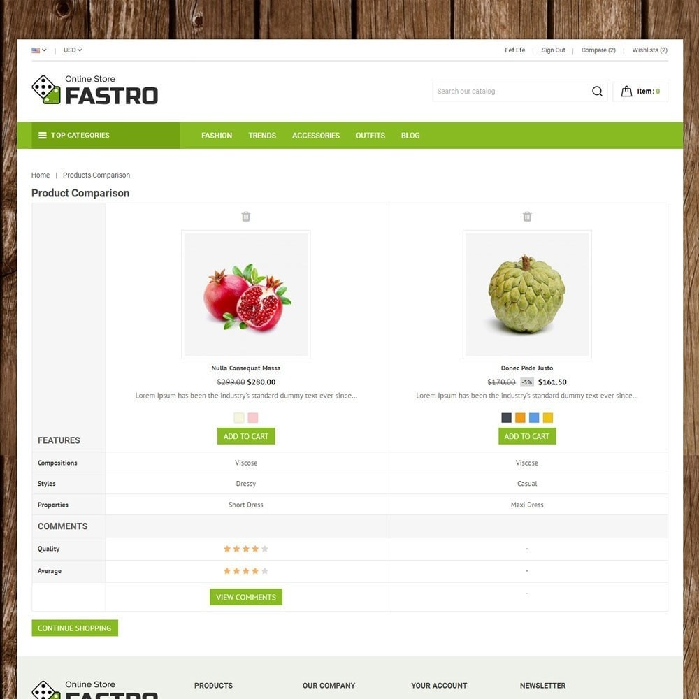 theme - Lebensmittel & Restaurants - Fastro Grocery Store - 7